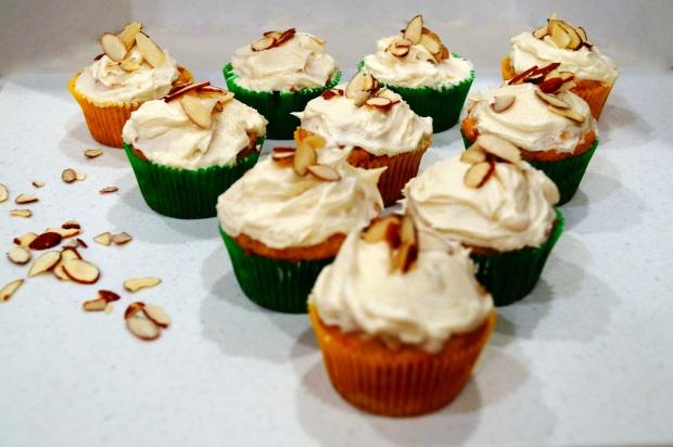 Almond Cupcakes 2